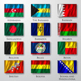 Flags. Royalty Free Stock Photo