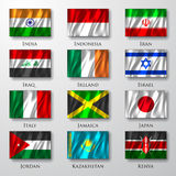 Flags. Royalty Free Stock Photography