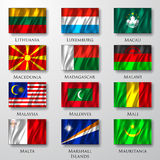 Flags. Royalty Free Stock Photos