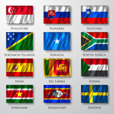 Flags. Stock Image