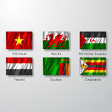 Flags. Stock Photography