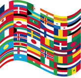 Flags. This image is a vector illustration and can be scaled to any size without loss of resolution. This image will download as a .eps file. You will need a Stock Photography