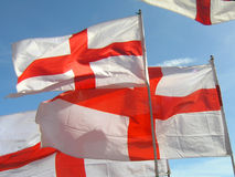 Flags. St George flag Royalty Free Stock Photo