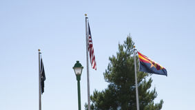 Flags in Arizona Stock Photos