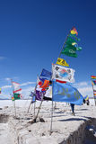 Flags in bolivia Stock Photo