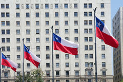 Flags of Chile, Chile Royalty Free Stock Photo