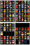 Flags and coats of arms 03 Royalty Free Stock Photos