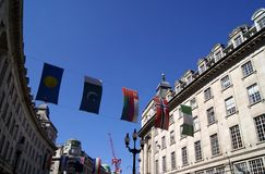 Flags decoration Stock Photo
