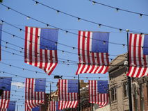Flags in Denver Royalty Free Stock Image