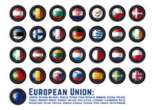 Flags EU Stock Images