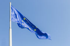 Flags of  Europe at Lake Constance Stock Photography