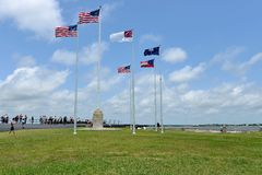 Free Flags Flying Over Fort Sumter - Charleston SC Royalty Free Stock Photos - 57294948