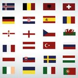 flags icon isolated vector on a white backround vector illustration