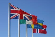 flags international стоковые фото