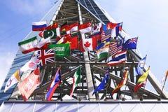 flags international Стоковое фото RF