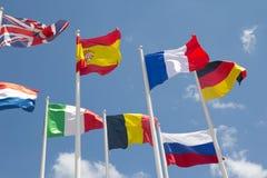 flags international Стоковая Фотография
