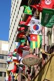 flags internationalen Arkivbilder