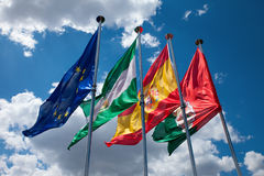 Flags Stock Photography
