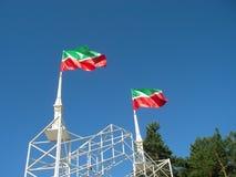 Flags on the Maidan Royalty Free Stock Photos