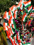 Flags n' Flags. Flags for sale on the 58th Republic day celebrations in India on 26th January Stock Photos