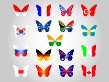 flags national Royaltyfri Fotografi