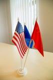flags national Fotografering för Bildbyråer
