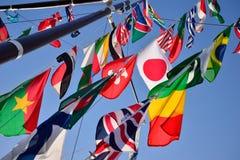 flags national Arkivbilder