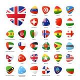 flags national Arkivbild