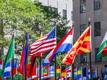 Flags of Nations Royalty Free Stock Image