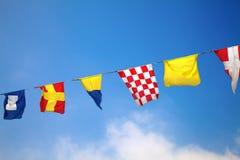 flags nautiskt arkivfoto