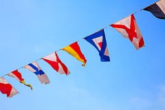 flags nautiskt arkivfoton