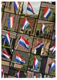 Flags of The Netherlands Stock Images