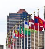 flags ny un york för användare Royaltyfri Foto