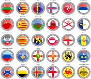 Flags Of The Europe. Stock Image