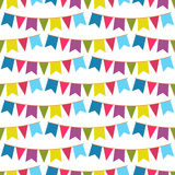 Flags seamless pattern Royalty Free Stock Photography