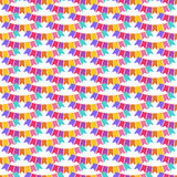 Flags seamless pattern Royalty Free Stock Images