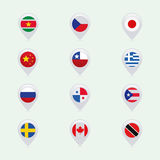 Flags stock illustration