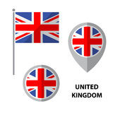 Flags set-01 Royalty Free Stock Images