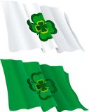 Flags for  St. Patricks Day Stock Images