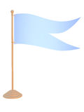 Flags on stand. Royalty Free Stock Photo
