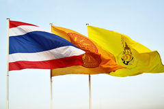 Flags of Thailand Stock Photos