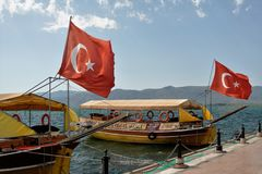 flags turkish Стоковые Изображения