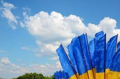 flags ukrainian Стоковые Изображения