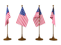 Flags of the United States Royalty Free Stock Images