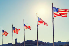 Flags of the United States Stock Photos