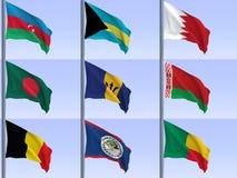 flags vol2 Стоковые Фото
