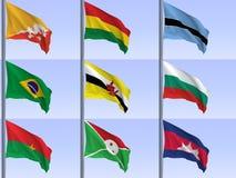 flags vol3 Стоковые Фото