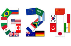 G20 Major Economies Stock Image