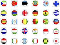 Flags of the world_2 Stock Images