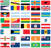Flags of the world 2 of 8 Stock Images